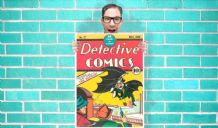 Old Batman Detective comic DC Comic Art Work - Wall Art Print Poster   -  Quote Art Geekery